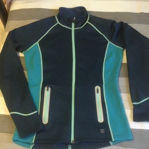 Title nine size small green/blue jacket